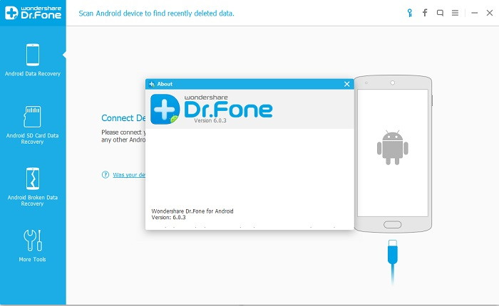 Dr.Fone - Android File Recovery