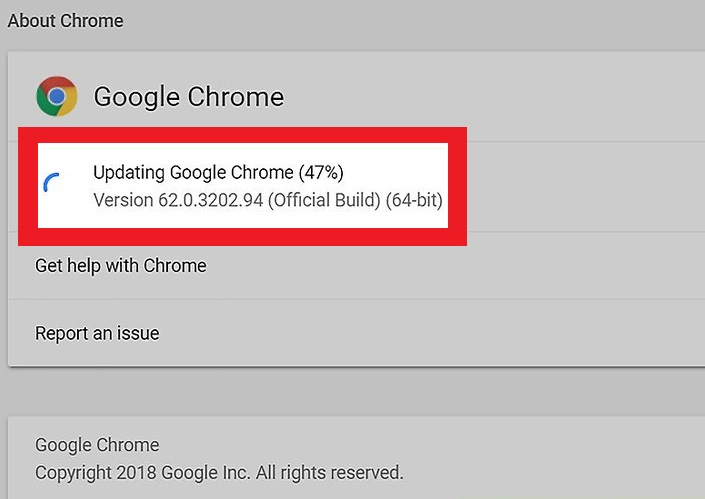 Update Your Chrome Browser