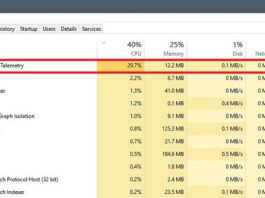 Microsoft Compatibility Telemetry High CPU and Disk Usage Issue in Windows