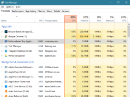 How to Fix Avast Service High CPU Error in Windows 10, 8 and 7